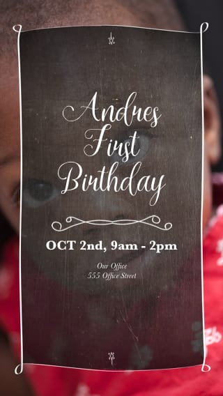 Text Message Invite Designs For Boys 1st Birthday Party