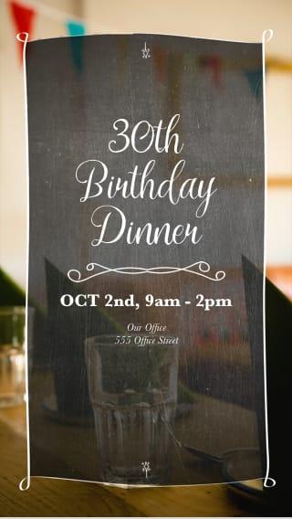 96 Birthday Invitations Via Text Message