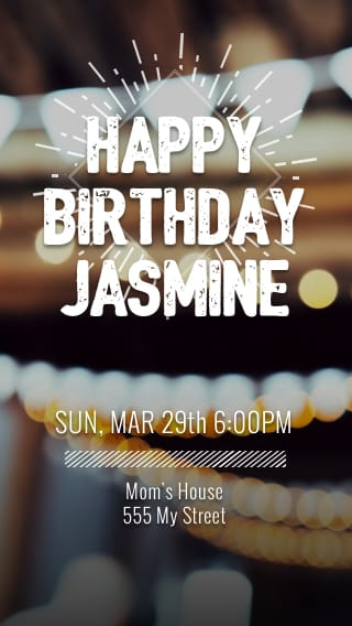 Free Text Message Invitations For Birthdays