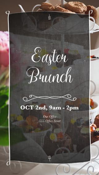 Text Message Invite Designs for Easter Brunch