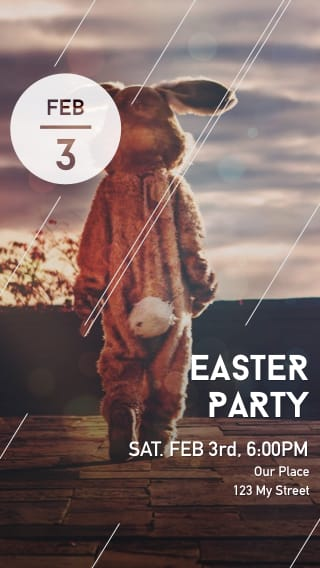 Text Message Invite Designs for Easter Party