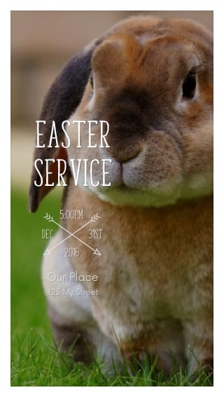 Text Message Invite Designs for Easter Service