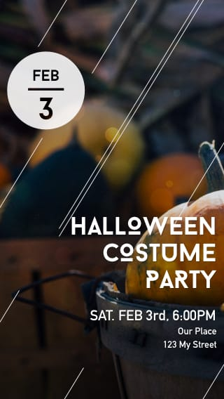 Text Message Invite Designs for Halloween Costume Party
