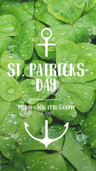 Text Message Invite Designs for Saint Patrick's Dat Party