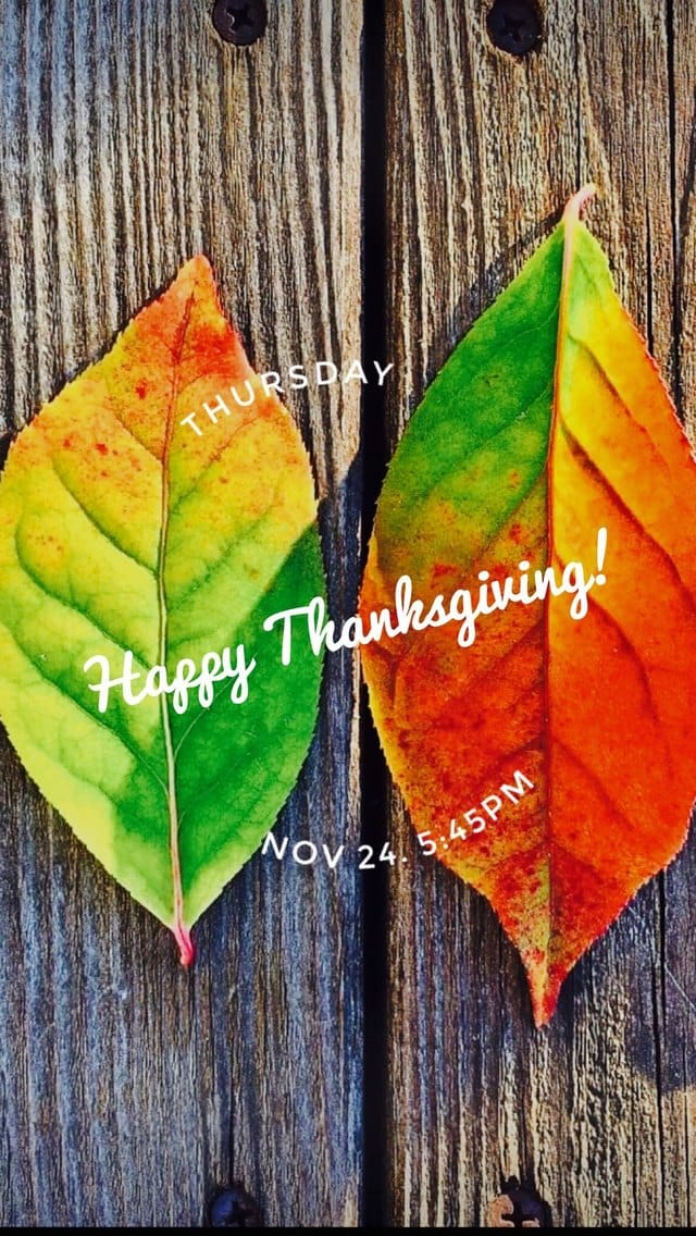 Text Message Invite Designs for Happy Thanksgiving