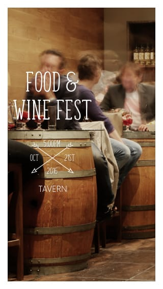 Text Message Invite Designs for Food and Wine Festival